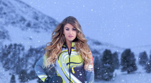 Amy Willerton is one of many celebrities to take a tumble on The Jump