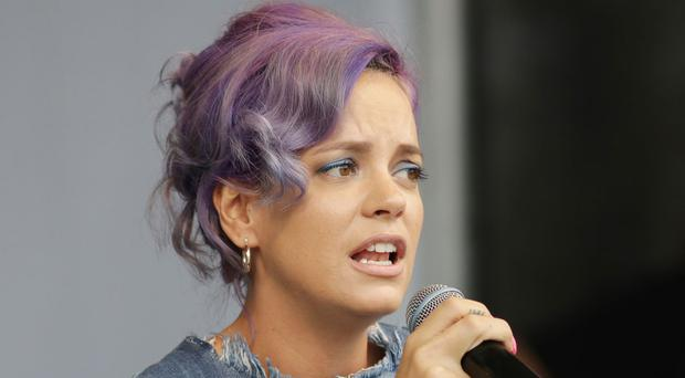 Lily Allen's comments came after web users taunted her, suggesting she had mental health issues