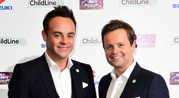 Ant and Dec saw audience numbers peak at 8.7 million for Saturday Night Takeaway