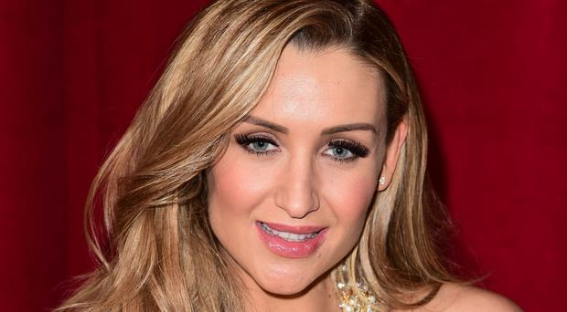 Catherine Tyldesley said doing the fight scene 'was brilliant'