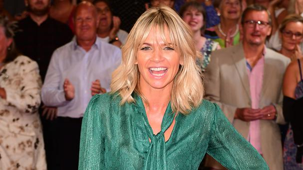 Zoe Ball said she would only be able to dance with her original partner Ian Waite if she did make a Strictly return because only he is 'strong enough' to lift her