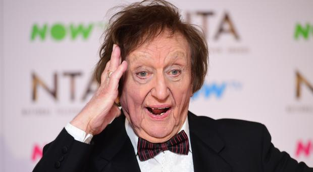 Sir Ken Dodd has been honoured for services to entertainment