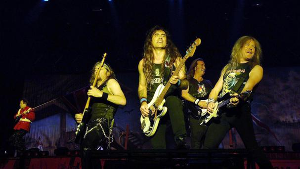 Iron Maiden's manager, Rod Smallwood, thanked fans for their