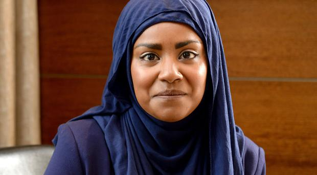 Winner of The Great British Bake Off Nadiya Hussain