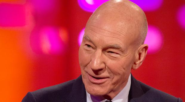 Actor Patrick Stewart said he asked