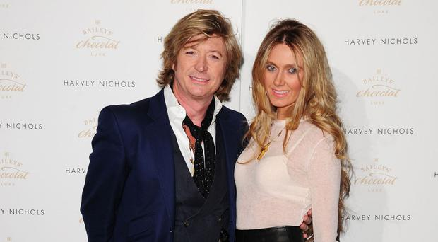 Nicky Clarke and Kelly Simpkin are expecting their first child together