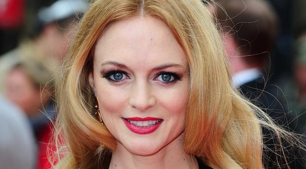 Film star Heather Graham is the new face of Foxy Bingo