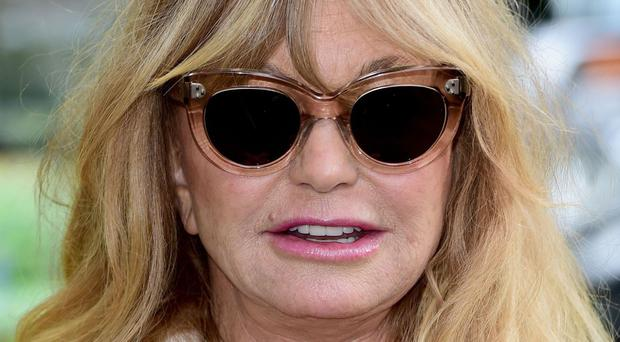 Goldie Hawn starred in the 1987 film Overboard with Kurt Russell