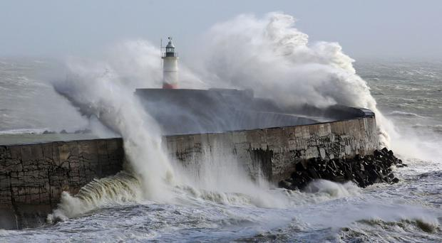 Bill Giles said forecasters should be sparing in their use of warnings