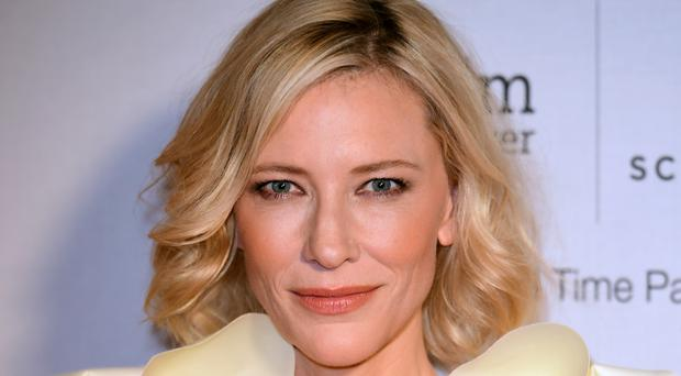 Cate Blanchett was promoting her debut in a Broadway play