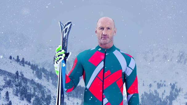 Undated handout photo issued by Channel 4 of Gareth Thomas, one of the contestants in this year's Channel 4 reality sport show, The Jump.