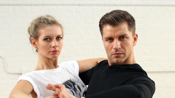 Rachel Riley with her partner Pasha Kovalev