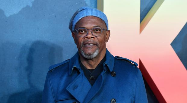 Samuel L Jackson was appearing on James Corden's chat show