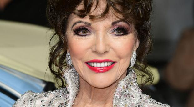 Joan Collins insists she is only