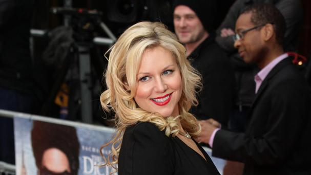 Abi Titmuss is engaged to her co-star in TV series Days Of Our Lives