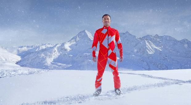 Jason Robinson is in the final of TV show The Jump (Channel 4)