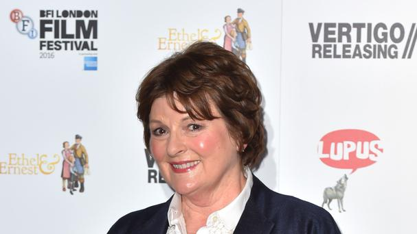 Brenda Blethyn said she is not afraid of heights