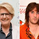 Sandy Toksvig and Noel Fielding