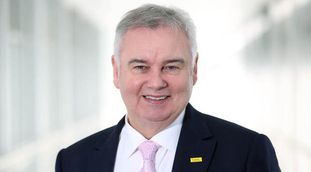 Eamonn Holmes made his debut on Good Morning Britain.