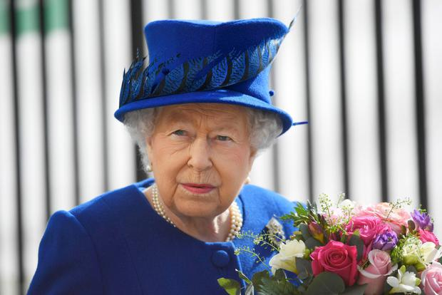 Queen has hired a person to break in her new shoes