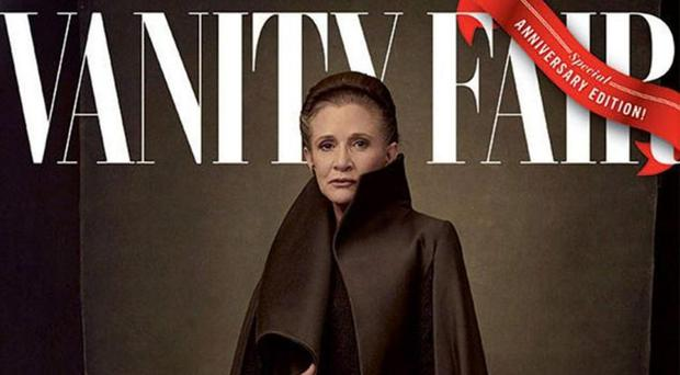 Vanity Fair's Carrie Fisher cover
