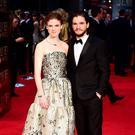 Setting up home: Rose Leslie and Kit Harrington