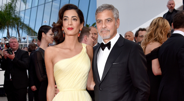 New parents: George and Amal Clooney
