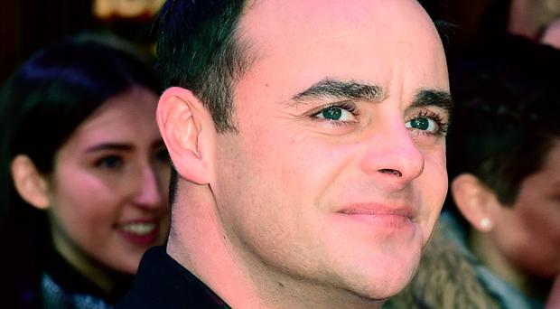 Anxiety issues: Ant McPartlin is in rehab