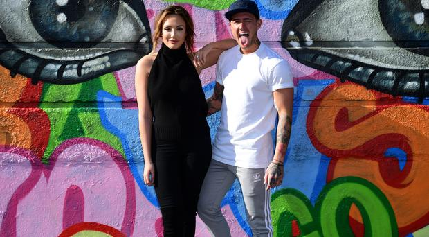 Charlotte Crosby and Stephen Bear launch their new show Just Tattoo of Us (Ian West/PA).