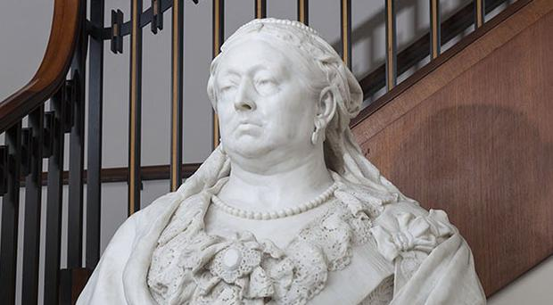 The bust of Queen Victoria (DCMS)