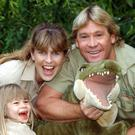 Steve Irwin at London Zoo