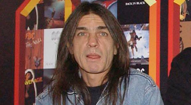 AC/DC co-founder Malcolm Young