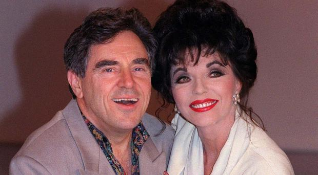 Dame Joan Collins and Anthony Newley