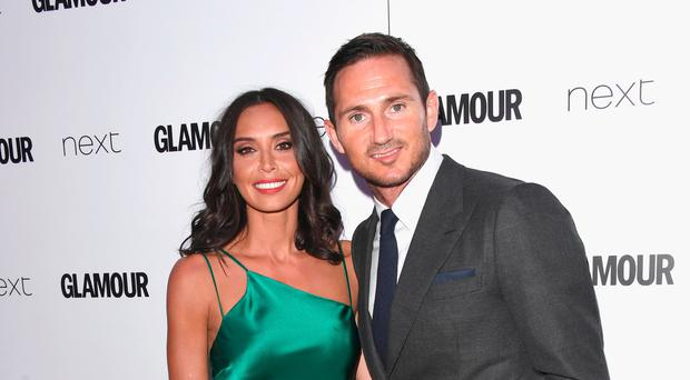 Christine Lampard with her husband Frank