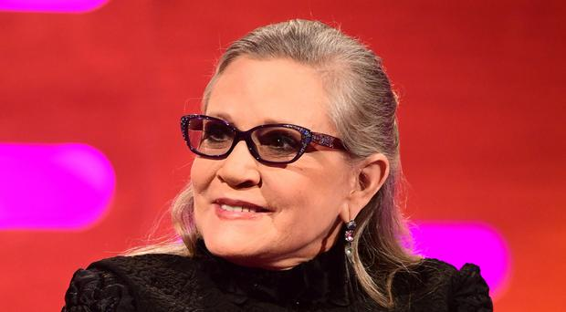 Carrie Fisher has won a Grammy