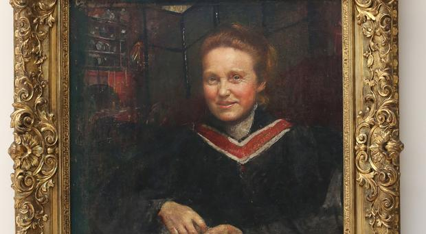 A portrait by Annie Swynnerton of suffragist Millicent Fawcett (Philip Toscano/PA)