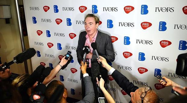 Lord Andrew Lloyd Webber often struggled with emotional demons (Ian West/PA)