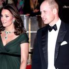 The Duke and Duchess of Cambridge attending the EE British Academy Film Awards held at the Royal Albert Hall. (Yui Mok/PA)
