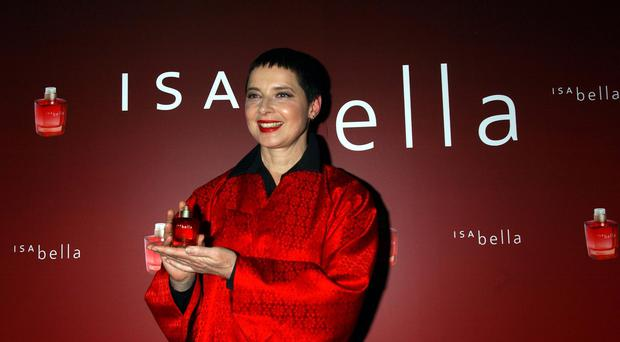 Isabella Rossellini is working for Lancome again (Yui Mok/PA)