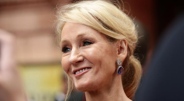 JK Rowling praised the shooting survivor's speech (Yui Mok/PA)