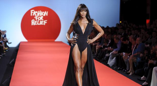 Naomi Campbell at last year's event (PA)