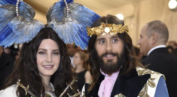 Jared Leto was compared to Jesus after he was pictured alongside Lana Del Rey at the Met Gala (Evan Agostini/Invision/AP)