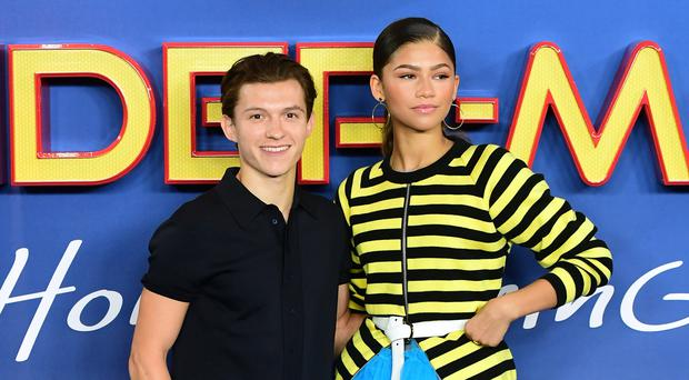 Tom Holland hints that he and co-star Zendaya are just 'mates' (Ian West/PA)