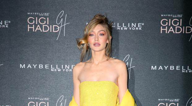 Gigi Hadid said she was only pro- coexistence (Isabel Infantes/PA)