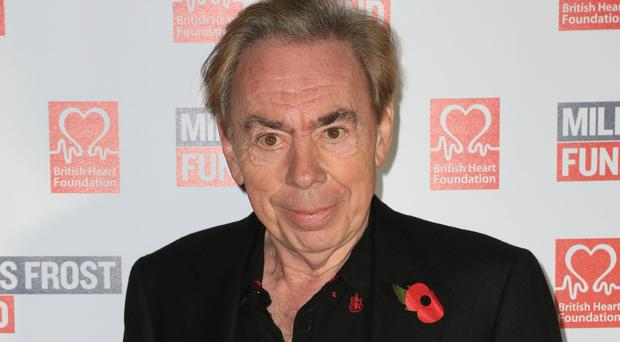 Andrew Lloyd Webber, is to be honoured for his career as a musical composer (Jonathan Brady/PA)