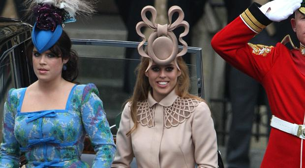 Philip Treacy spoke about the backlash against the distinctive, towering 'Pretzel' design made for Princess Beatrice in 2011 (Steve Parsons/PA)