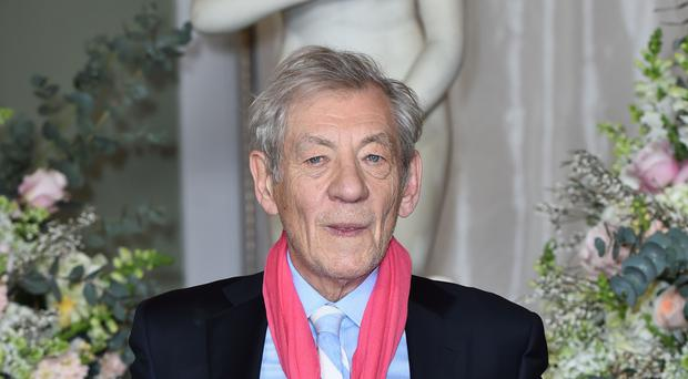 Sir Ian McKellen missed the matinee performance of the play (PA)