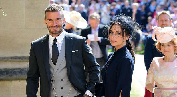 Victoria and David Beckham share sweet family snaps from holiday (Ian West/PA)
