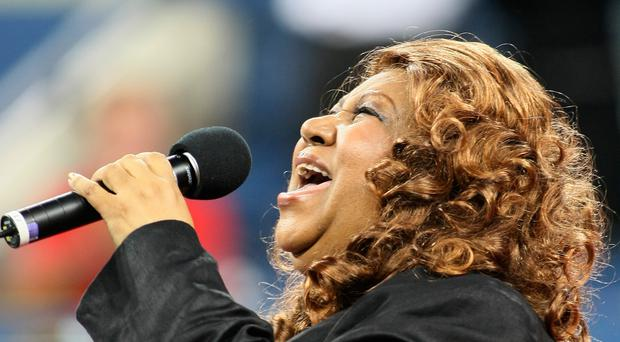 Aretha Franklin belting out hits in 2007