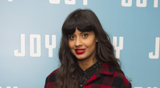Jameela Jamil attends a special screening of Joy, at the Ham Yard Hotel in London. (Matt Crossick/PA)